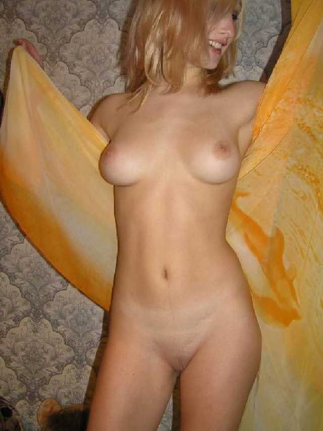 Naked Blonde Dare