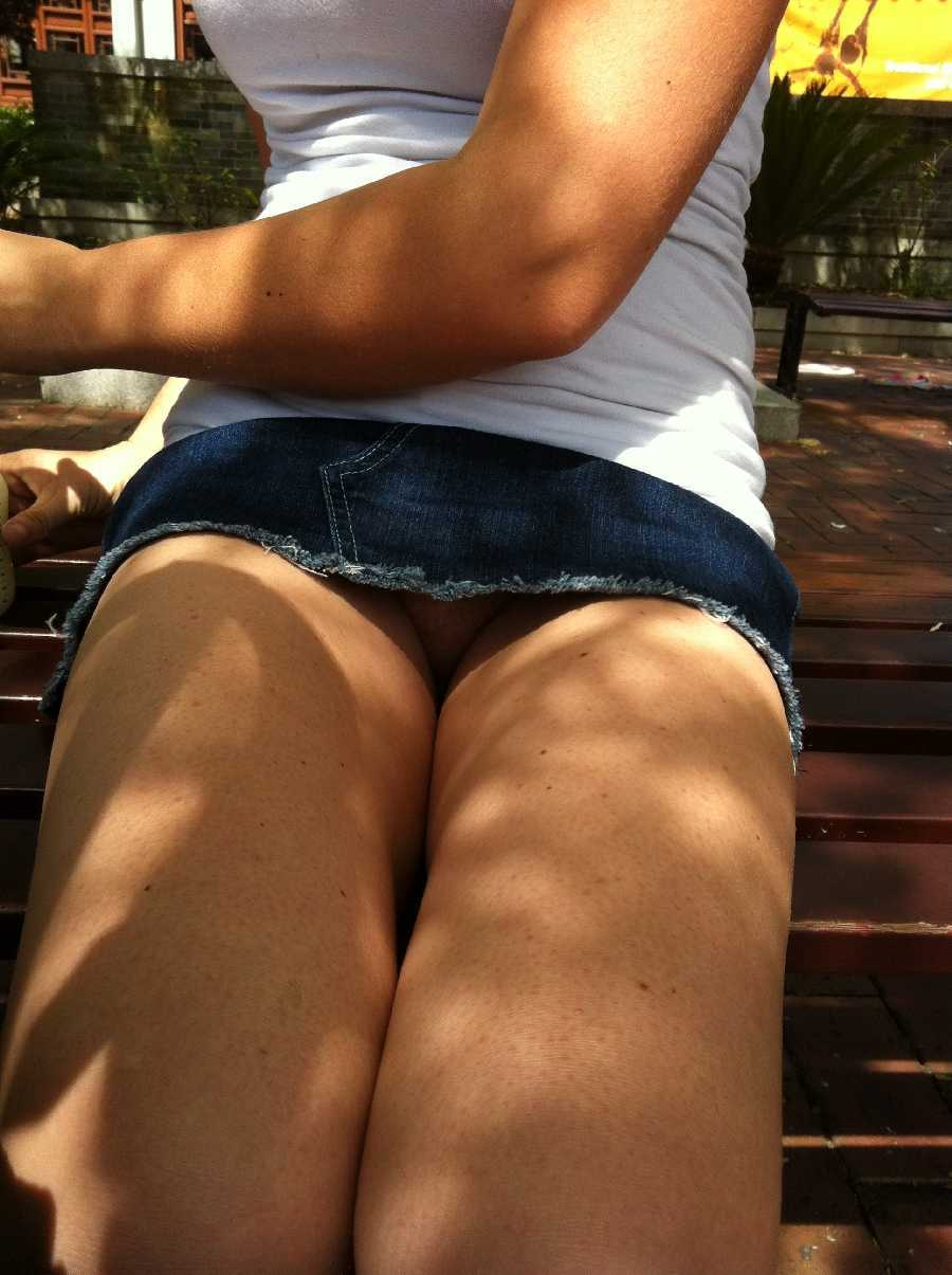 Upskirt in Public Dare