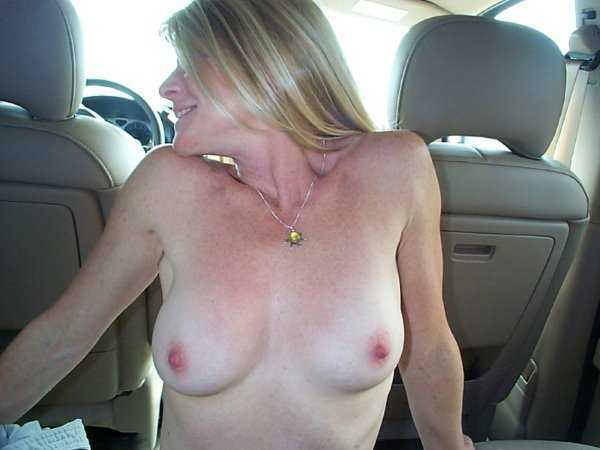 Wife in Car Dare